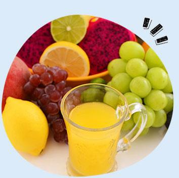 グリーンクレンズカクテルの飲み方:果物ジュース