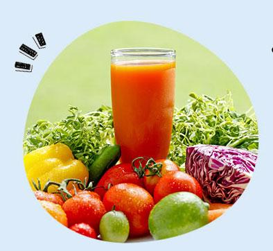 グリーンクレンズカクテルの飲み方:野菜ジュース