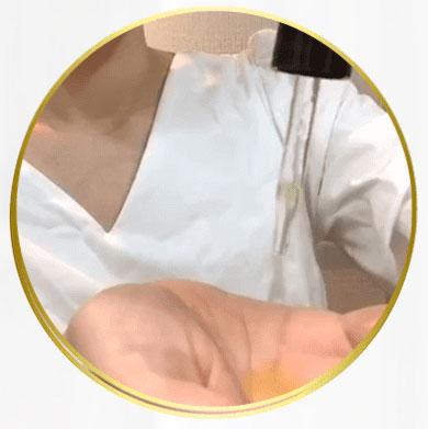 ハニプラ美容液使い方1
